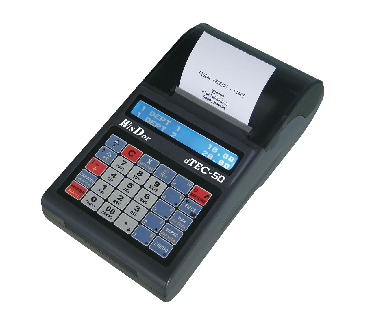 Ταμειακή Μηχανή Datatec D Tec-50BL